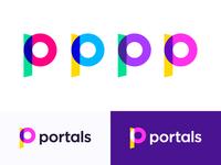 Portals logo concept
