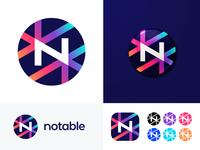 Notable v 1.1 | Logo concept for News platform