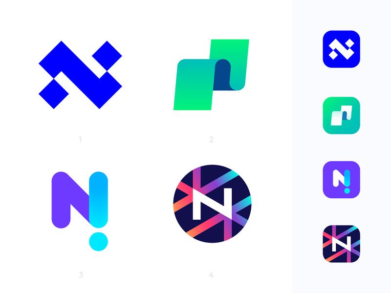Notable logo concepts | News platform