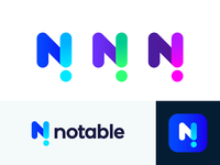 Notable unused logo concept | News platform