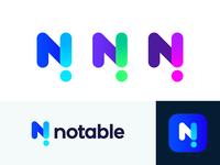 Notable unused logo concept | News platform