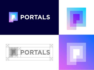 PORTALS approved logo design