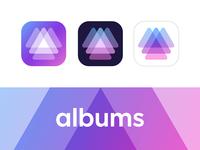 Albums logo concept 03 (wip)
