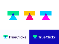 """T ""+ ""arrow"" + ""call-to-action button"" logo concept"