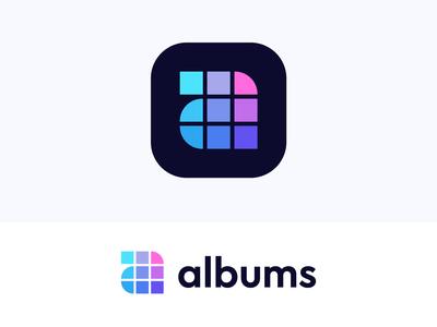 a monogram for albums