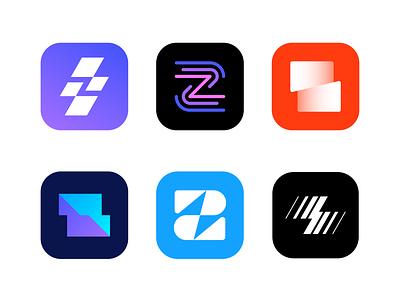 Zing logo concepts | Apps builder branding