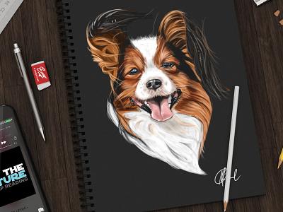 Dog Sketch graphic design branding design drawing art illustration sketch