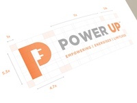Power Up Logo Design