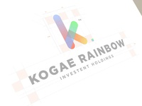 Kogae Rainbow Logo Design