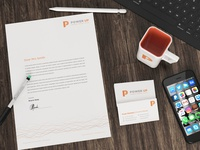 Power Up Stationery Design