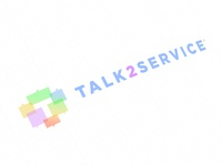 Talk2Service logo design