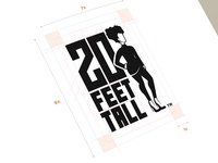 20 Feet Tall Logo