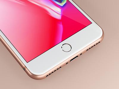iPhone 8 Plus Design Mockup