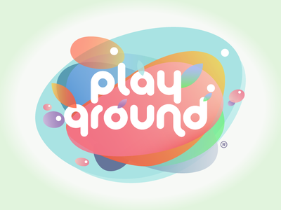 Playground type typography vector art modisana vector color colour playground illustration