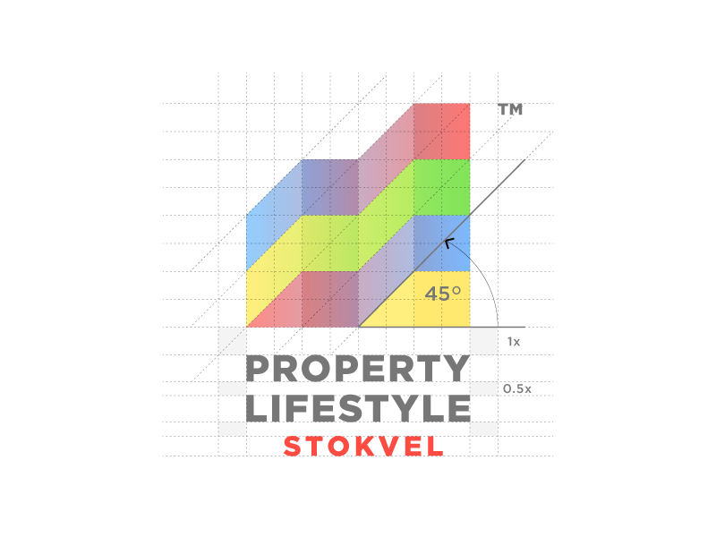 Property Lifestyle Logo Design south africa modisana graphic design investment grid building growth branding logo