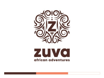ZUVA African Adventures tourism africa ui  ux design app design website design branding branding and identity logo design