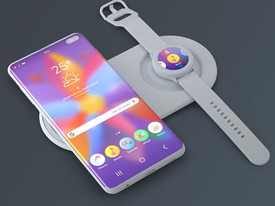 Android Theme Designs clay render colour user interface android app theme design ui design ux design ui web design smartwatch smartphone icon design