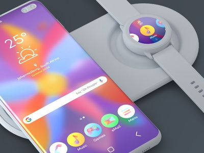 Android Theme Designs clay render colour user interface android app theme design ui design ux design ui web design smartwatch smartphone icon design