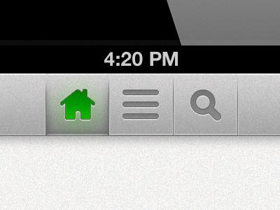Retina app nav app mobile navigation nav