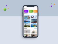 Image Sharing App Concept