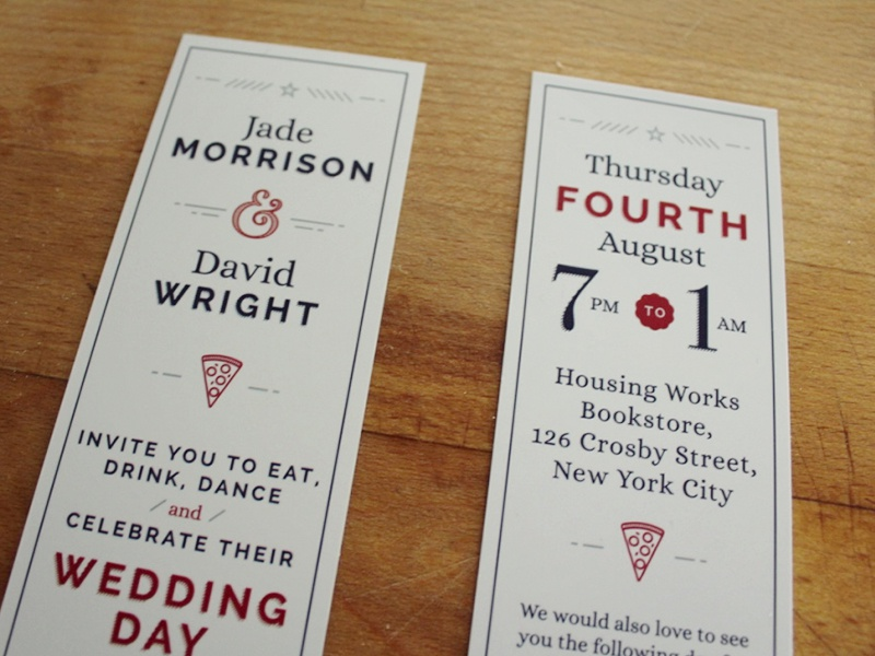 wedding invite by kieran link dribbble