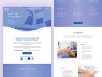 Physiotherapist Website