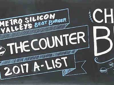The Counter Chalkboard Menus block lettering illustration line art logo chalk inspiration menuboard menu hand lettering chalk paint chalk food the counter