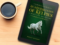 "Ebook cover - ""Interpretation of Kelpies"""