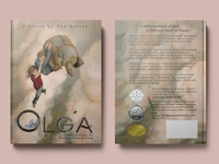 Olga - children's book cover