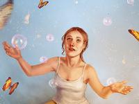 Bubbles - digital painting