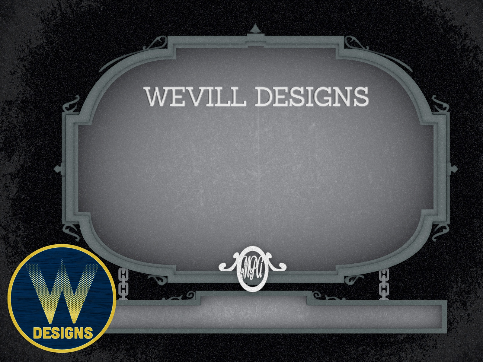 Silent Movie Title Card Richard Wevill Dribbble Jpg 1600x1200 Film Template