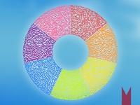 Rainbow/Iridescent Logo Trend 1
