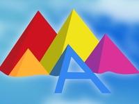 Rainbow/Iridescent Logo Trend 2