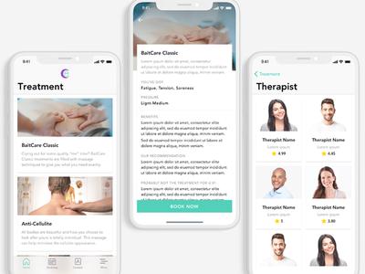 BaitCare Massage App