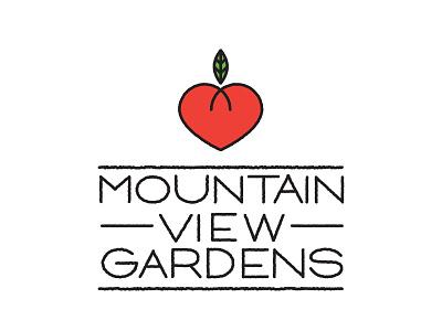 MVG Logo Sketch 1 heart custom font hydroponic farming kalispell tomatoes