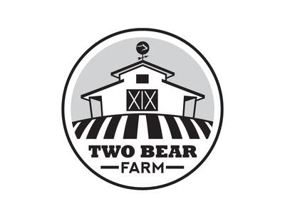 Two Bear Farm Logo sketch
