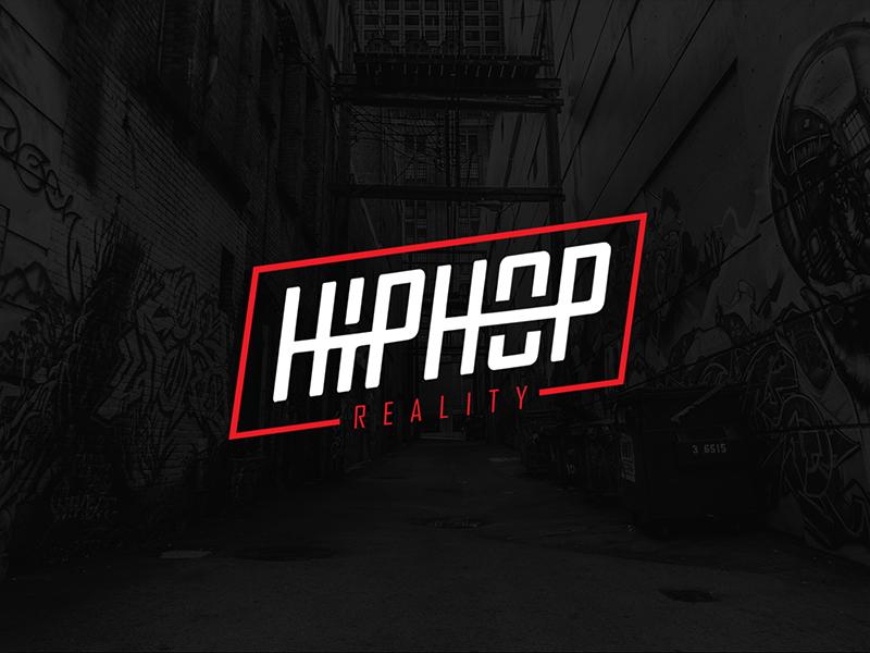 Hip Hop Reality clean simplicity symbol street vector logo minimalist