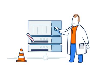 Lekar.sk - Illustrations II. medical medical care medical app online doctor doctor healthcare after effects animation illustration ae after effects