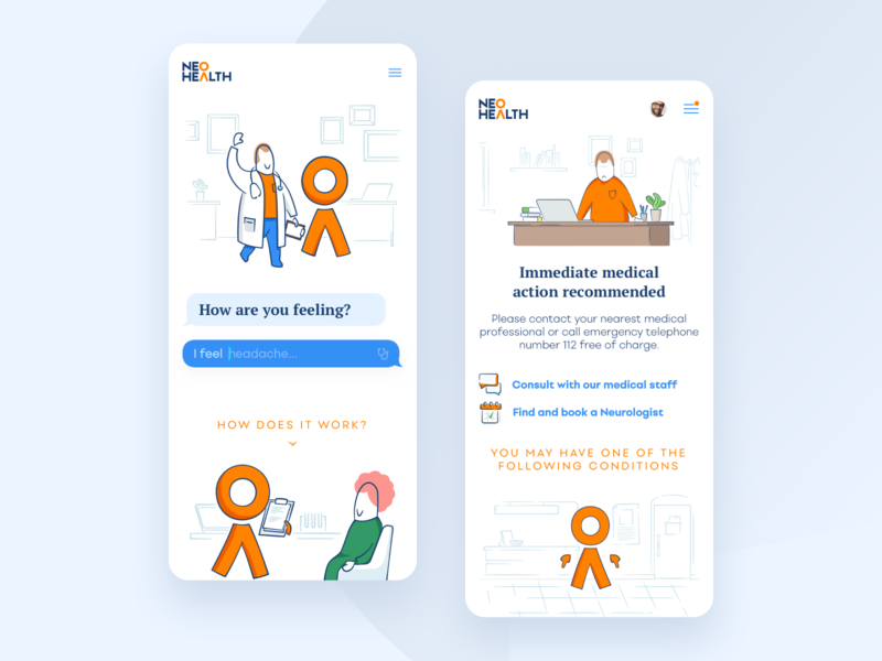 Lekar.sk - Mobile version online doctor mobile apps healthcare responsive mobile design app design webdesign mobile app design ios mobile app