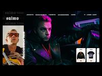 Salmo Merch E-commerce Design