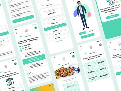 Gamification Student App - Leadership Factory skill progress app learning