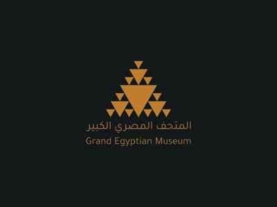 Grand Egyptian Museum - Logo Concept