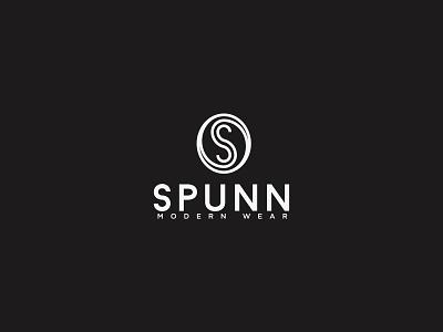 Fashion Brand - SPUNN rounded s letter wear fashion logo design branding vector icon logo design identity design logo branding