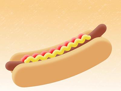 Hotdog Raisin icelandic sayings hotdog design colourful motion loop illustration cartoon animation ae after effects 2d