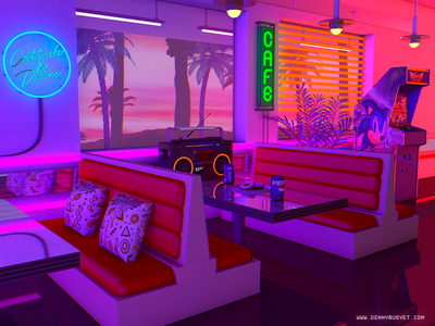 Cocktails And Dreams cassette rad vaporwave aesthetic eighties 1980s 80s outrun retrowave synthwave