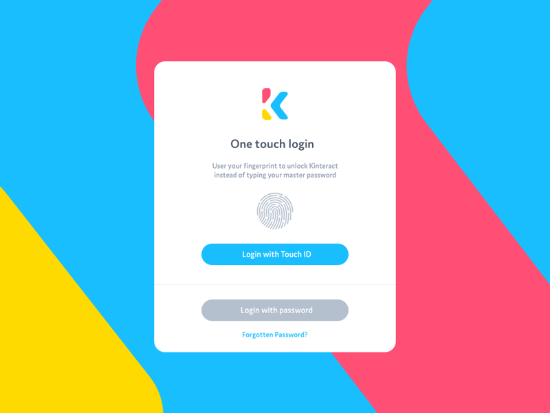 Login touchid1