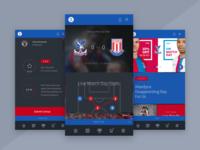 Sports App Progress