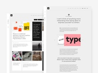 Type Foundry - Blog