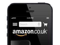 Amazon Mobile Website Concept 1