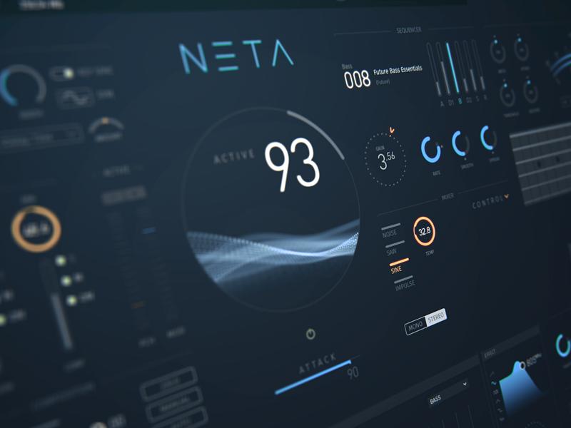 NETA music hud interface by Alexander Zhukov on Dribbble